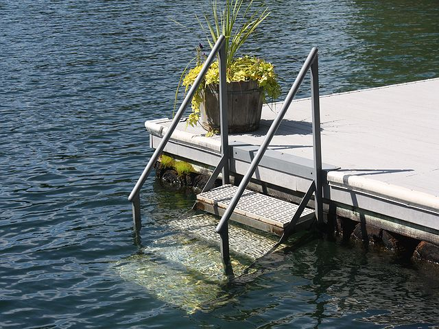 Dock Ramps and Stairs build sample