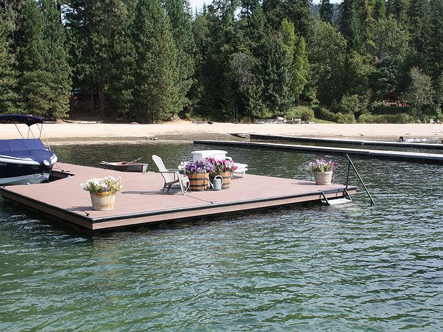 Dock repair and rebuilt